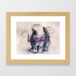 BUNNY #4 Framed Art Print