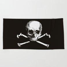 Skull and Crossbones | Jolly Roger Beach Towel