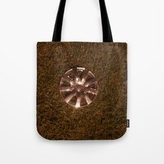 Wheel Lay On The Lawn Tote Bag