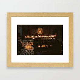 Candles - Duomo di Milano Framed Art Print
