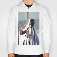 pigeon Hoodies featuring Pigeon by Toni Tylicki