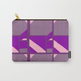Please Pink, Maybe Mauve, Patterned Purple Carry-All Pouch