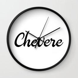 Chevere Venezuela  Design Wall Clock