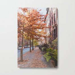 Autumn NYC Metal Print