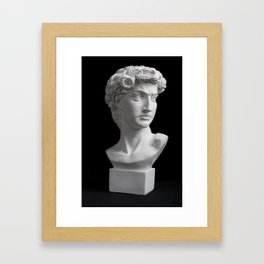 In Thought Framed Art Print