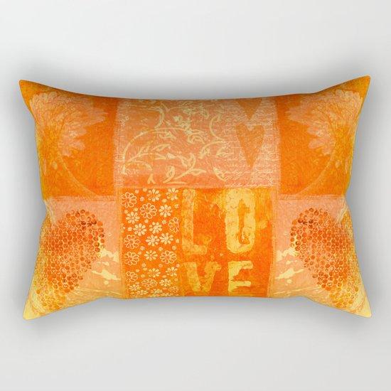 Heartbeat   Rectangular Pillow