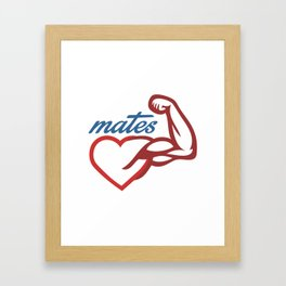- Mates Framed Art Print