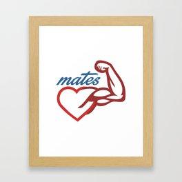 - Mates Framed Art Print