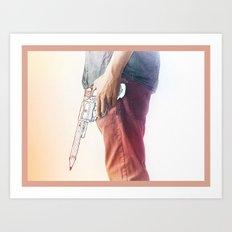 Creative weapon #2 Art Print