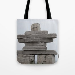 Inukshuk Fine Art Photography Tote Bag