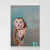 the who Stationery Cards featuring Who??? by C.BENNETT