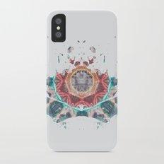 Inkdala XII - Rainbow Rorschach Art iPhone X Slim Case