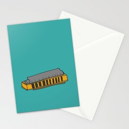 Harmonica Stationery Cards