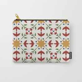 Starflower Quilt Pattern Carry-All Pouch