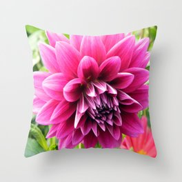 Floral Beauty #2 Throw Pillow