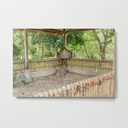 Children & Women Mass Grave, Killing Fields, Cambodia Metal Print