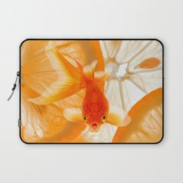 Orange Fish Laptop Sleeve