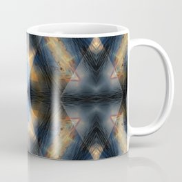 Triangle Sunset Photographic Pattern #1 Coffee Mug