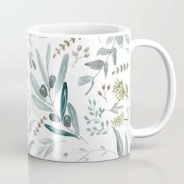 Eucalyptus pattern Coffee Mug