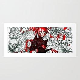 JAMS IS DEAD3 Art Print