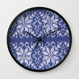 Fair Isle Wall Clock
