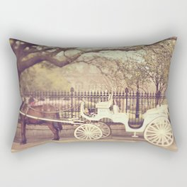 New Orleans Carriage Ride Rectangular Pillow