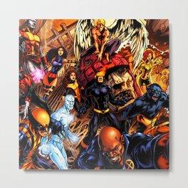 x-man and friends Metal Print