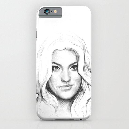 Jennifer Carpenter | Debra Morgan Portrait iPhone & iPod Case