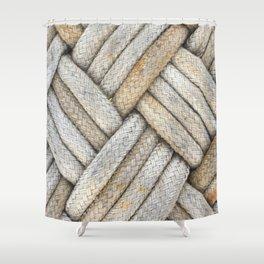 Diamond Knots Shower Curtain