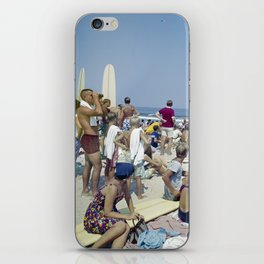 1970's Surfing Competition in Virginia Beach, VA iPhone Skin