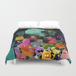 The mezcal monsters Duvet Cover