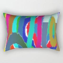RoundRound by Mickeys Art And Design.Biz Rectangular Pillow
