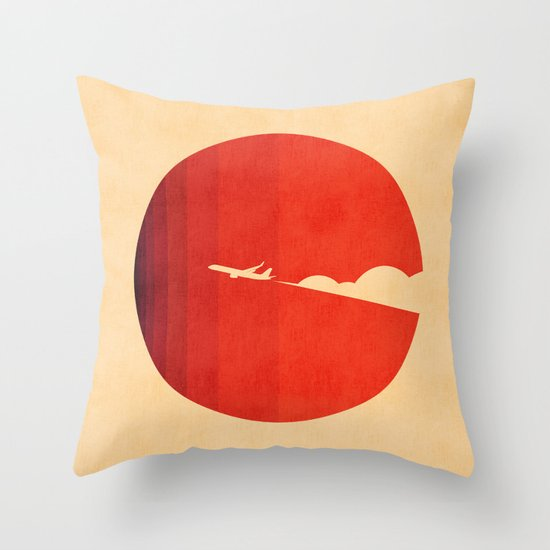 The long goodbye Throw Pillow