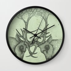 Into the Spring Wall Clock