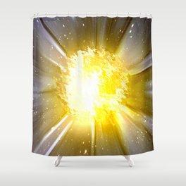 6000 Grad Celsius. Shower Curtain