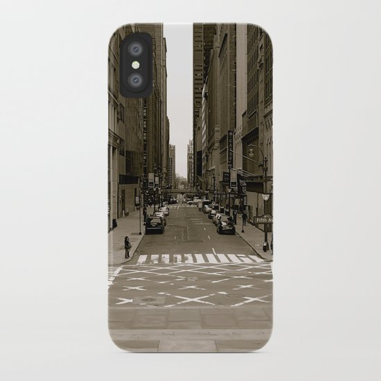 """""""fifth ave"""" iPhone Case"""