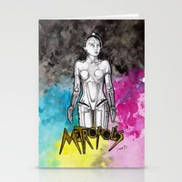 metropolis Stationery Cards featuring METROPOLIS by Dianah B