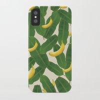 banana leaf iPhone & iPod Cases featuring banana by aisyrahma