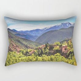 The Atlas Mountains Morocco Rectangular Pillow