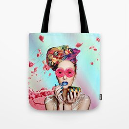 Candy Lady Tote Bag