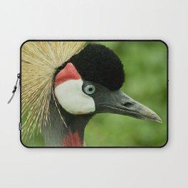 Grey crowned crane Laptop Sleeve