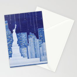 New York, Statue of Liberty Stationery Cards