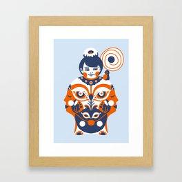Gratified Framed Art Print