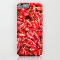 UN ROJO AJÍ EN PALOQUEMAO - RED HAXÍ IN PALOQUEMAO iPhone 6s Slim Case