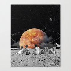 Venus Beach Canvas Print