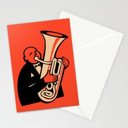 The Tuba Stationery Cards