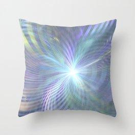fractal: beginning Throw Pillow
