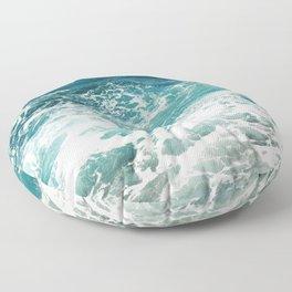 Sea Foam  Floor Pillow