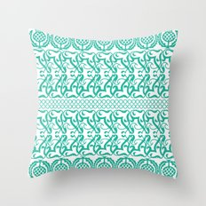 Lace pineapple pattern Throw Pillow
