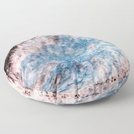 Pearl Blue Mist Floor Pillow